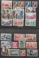Algérie 1954 - 1956      Cat Yt N° 312 à  336 (sauf 331 )  N**  MNH - Algerien (1924-1962)
