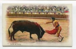 CORRIDA DE TODOS BARCELONA CATALUÑA ESPAÑA ANTIGUA TARJETA POSTAL SPAIN POSTCARD 120619 - Barcelona
