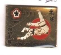 A135 Pin's Club JUDO DUN SUR AURON CHER Achat Immédiat - Judo