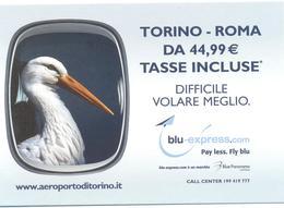 PROMOCARD N°  8263  AEROPORTO DI TORINO BLU-EXPRESS - Pubblicitari