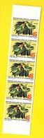 Bande 5 Timbres 45 F Oiseau Non Dentelés  Cameroun - Cameroun (1960-...)