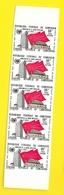 Bande 5 Timbres 50 F Chine ONU Non Dentelés  Cameroun - Cameroun (1960-...)