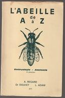 Apiculture  L'abeille De A à Z 32 Planches 1973 Traces D'humidités En Haut - Natualeza