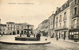 Nontron   Place De L Hotel De Ville - Nontron