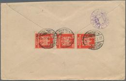 "Korea: Incoming Mail, Germany, 1921/25, Four Covers: 1921 To Gensan/Wonsan W. ""10.12.25"" Arrival; An - Korea (...-1945)"