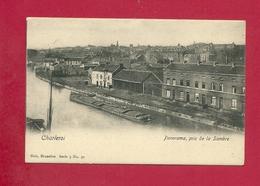 C.P. Charleroi  = Panorama  Pris  De La Sambre - Charleroi