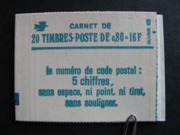 Carnet 1970 C1 Avec Date En Marge . Neuf XX. - Usage Courant