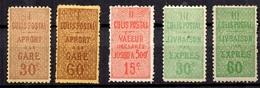France Colis Postaux YT N° 28/32 Neufs *. B/ TB. A Saisir! - Parcel Post
