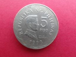 Philippines  5 Piso  1998  Km 272 - Philippines