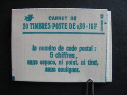 Carnet 1970 C1 Avec Numéro En Marge . Neuf XX. - Usage Courant