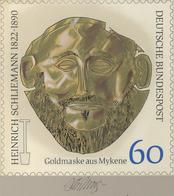 Thematik: Archäologie / Archeology: 1990, Bund, Nicht Angenommener Künstlerentwurf (21,5x21,5) Von P - Archäologie