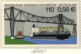 Thematik: Bauwerke-Brücken / Buildings-bridges: 2001, Bund, Nicht Angenommener Künstlerentwurf (26,5 - Bridges