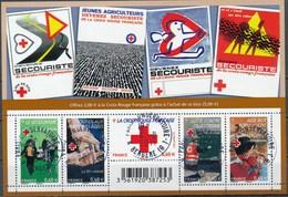 France - Croix-Rouge 2011 / Le Feuillet YT F4621 Obl. Cachet Rond Manuel - Blocs & Feuillets