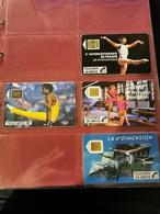 Lot De 191 Télécartes Cf Photos Jointes (sans Les Classeurs) - Télécartes