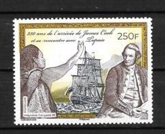 2019 - **MNH - 250 Ans Arrivée De James Cook - Polynésie Française