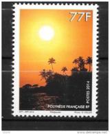 2014 - 1075**MNH - Coucher De Soleil - Polinesia Francese