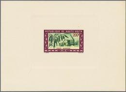Thematik: Landwirtschaft / Agriculture: 1969, UPPER VOLTA: Agriculture 200fr. 'RICE Production' Spec - Landwirtschaft