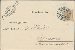 Thematik: Medizin, Gesundheit / Medicine, Health: 1906/1907, Austria. Set Of 5 Private Postal Card 3 - Medizin