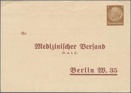 Thematik: Medizin, Gesundheit / Medicine, Health: 1935 (approx), German Reich. Private Postal Card 3 - Medizin