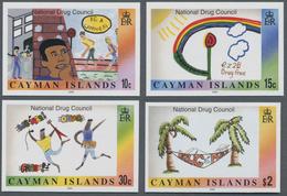 "Thematik: Medizin, Gesundheit / Medicine, Health: 2000, Cayman Islands. Complete Set ""National Agenc - Medizin"