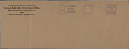 Thematik: Olympische Spiele / Olympic Games: 1936, USA Für Berlin 1936. PROBEABSCHLAG Des Meter Labe - Olympische Spiele