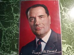 1 Carte FRANCOIS   MITTERRAND - Personnages