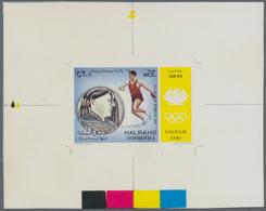 Thematik: Olympische Spiele / Olympic Games: 1972, Sharjah Munich 1972 Olympic Games Athletics Discu - Olympische Spiele