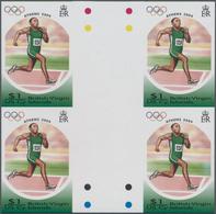 Thematik: Olympische Spiele / Olympic Games: 2004, BRITISH VIRGIN ISLANDS: Summer Olympics Athens $1 - Olympische Spiele