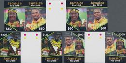 Thematik: Olympische Spiele / Olympic Games: 2016, JAMAICA: Summer Olympics Rio De Janeiro Complete - Olympische Spiele