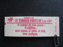 Carnet 1972 C2a Avec Date En Marge . Neuf XX. - Freimarke