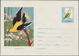 Thematik: Tiere-Vögel / Animals-birds: 1961, Romania. Lot Of 7 Different Entire Picture Covers. Four - Vögel
