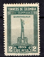 Colombie YT N° 287 Neuf *. B/TB. A Saisir! - Colombia