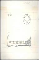 Thematik: Tiere-Vögel / Animals-birds: 1981, Aitutaki, BIRDS, 3 Different Sketches For The Overlay F - Vögel
