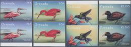 Thematik: Tiere-Vögel / Animals-birds: 2000, GRENADA-CARRIACOU: Domestic Birds Complete Set Of Four - Vögel