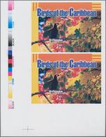Thematik: Tiere-Vögel / Animals-birds: 2003, ST. VINCENT-BEQUIA: Birds Of The Caribbean $5 (Montezum - Vögel