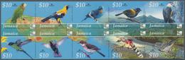 Thematik: Tiere-Vögel / Animals-birds: 2004, Jamaica. IMPERFORATE Minature Sheet Of 10 For The Issue - Vögel
