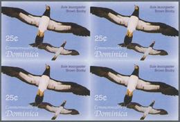 Thematik: Tiere-Vögel / Animals-birds: 2005, Dominica. Imperforate Block Of 4 For The 25c Value Of T - Vögel