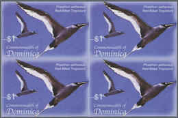 Thematik: Tiere-Vögel / Animals-birds: 2005, Dominica. Imperforate Block Of 4 For The $1 Value Of Th - Vögel