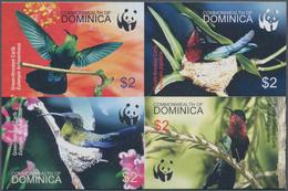 Thematik: Tiere-Vögel / Animals-birds: 2005, Dominica. Imperforate Se-tenant Block Of 4 For The Seri - Vögel