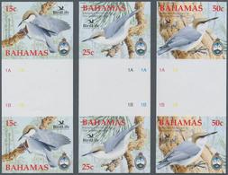 "Thematik: Tiere-Vögel / Animals-birds: 2006, Bahamas. Complete Set ""Nature Conservation Organisation - Vögel"