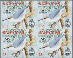 Thematik: Tiere-Vögel / Animals-birds: 2006, Bahamas. Imperforate Block Of 4 For The 25c Value Of Th - Vögel