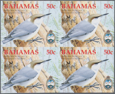 Thematik: Tiere-Vögel / Animals-birds: 2006, Bahamas. Imperforate Block Of 4 For The 50c Value Of Th - Vögel