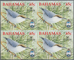 Thematik: Tiere-Vögel / Animals-birds: 2006, Bahamas. Imperforate Block Of 4 For The 65c Value Of Th - Vögel