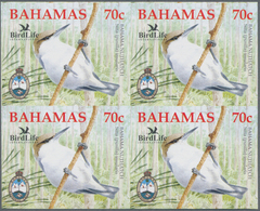 Thematik: Tiere-Vögel / Animals-birds: 2006, Bahamas. Imperforate Block Of 4 For The 70c Value Of Th - Vögel