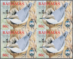 Thematik: Tiere-Vögel / Animals-birds: 2006, Bahamas. Imperforate Block Of 4 For The 80c Value Of Th - Vögel