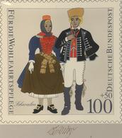 Thematik: Trachten / Costumes: 1993, Bund, Nicht Angenommener Künstlerentwurf (21,5x21,5) Von Prof. - Kostüme