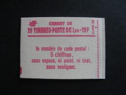 Carnet 1972 C3 Avec Numéro En Marge . Neuf XX. - Usage Courant