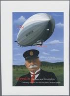 Thematik: Zeppelin / Zeppelin: 2000, LESOTHO: 100 Years Zeppelin Air Ships 15m. IMPERFORATE Miniatur - Zeppeline