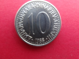 Yougoslavie  10 Dinara  1988  Km 89 - Yougoslavie