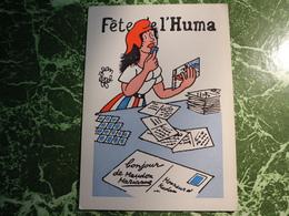 1 Carte POSTALE FETE DE L'HUMA - Effel